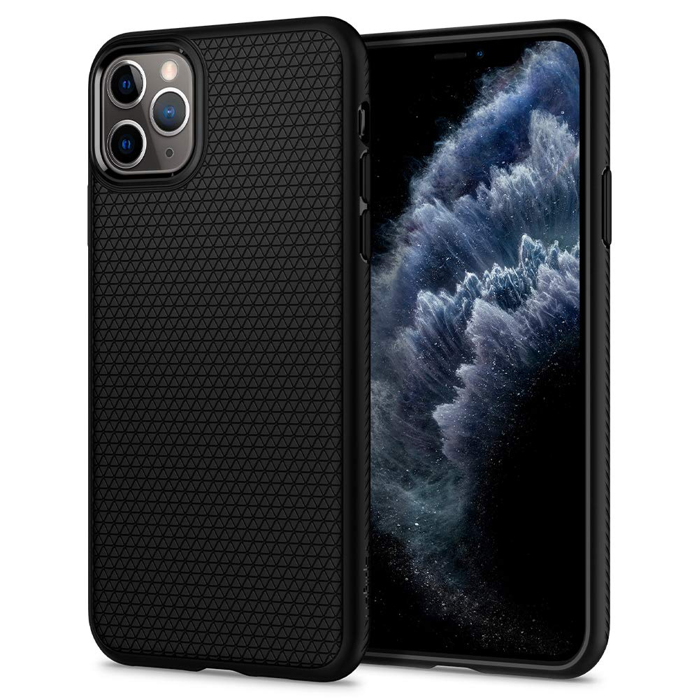Spigen Liquid Air, Designed for iPhone 11 Pro Case (2019) - Black