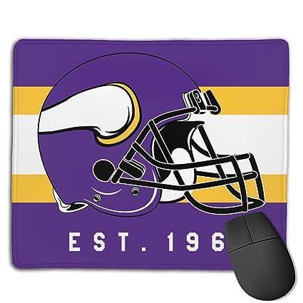 1861d59e Amazon.com : Deeoor Custom Colourful Mouse Pad Minnesota Vikings ...