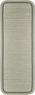 product image for Rhody Rug CC68R024X096S 2 x 8 ft. Casual Comfort Mistletoe Banded Braided Rug44; Rectangle-Runner