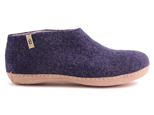 4fa17d3d768a5 Amazon.com | Egos House Slippers: 100% Natural Shoes | Sheep Wool ...