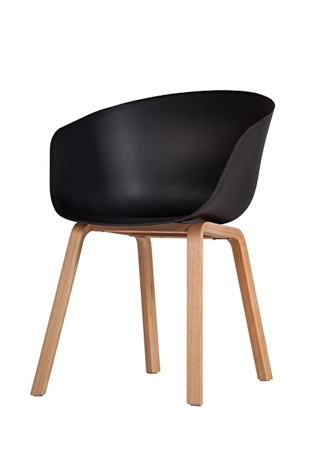 Beau HAY About A Danish Style Dining Chair Black