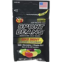 Jelly Belly Assorted Sport Beans (Orange, Lemon Lime, Fruit Punch, and Berry) - 6 Pack