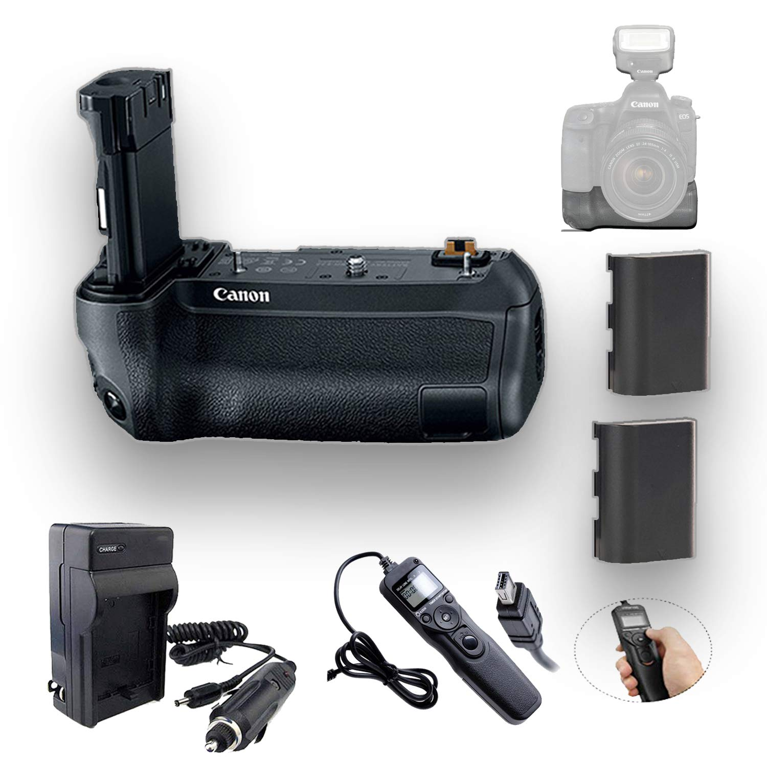 Canon BG-E22 Battery Grip with Accessory Kit by Canon