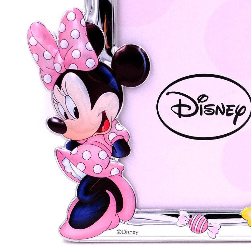 Amazon.de: Bilderrahmen Silberrahmen Fotorahmen Disney Kind Minnie ...