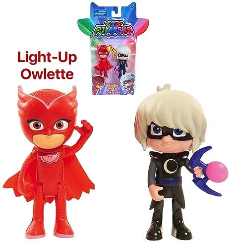 Pj Masks Luna & Light Up Owlette Action Figure Set ...