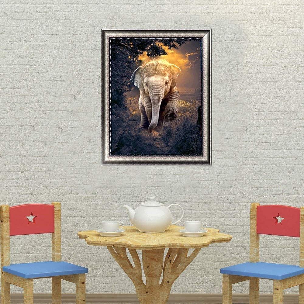 Cskunxia 5D DIY Diamant Painting Bilder gro/ß,Full Drill f/ür Erwachsene und Kinder,Dekoration f/ür Home Wall