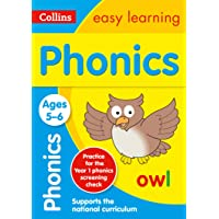 Phonics Ages 5-6: KS1 English Home Learning and School Resources from the Publisher of Revision Practice Guides…