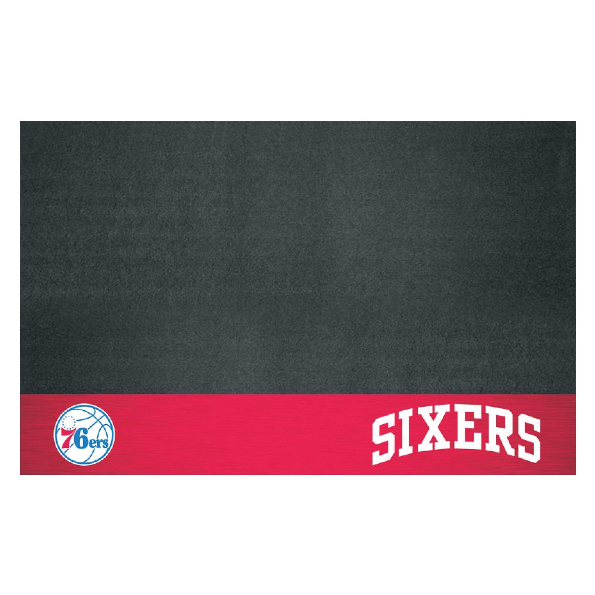 Fanmats NBA Philadelphia 76ers Grill Mat, Small