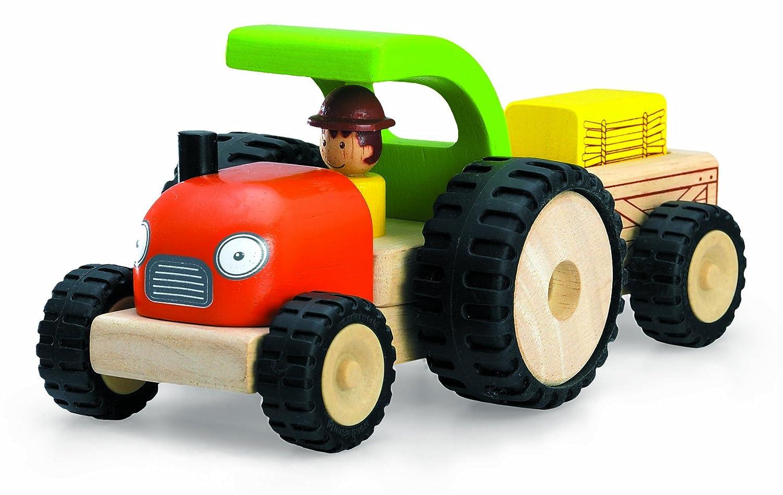 Andreu Toys Andreu ToysWW-4042 Wonder World Mini Tractor Toy, 11 x 20 x 9 cm