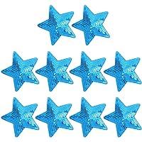 HEALLILY parche bordado estrella apliques insignia tela pentagrama