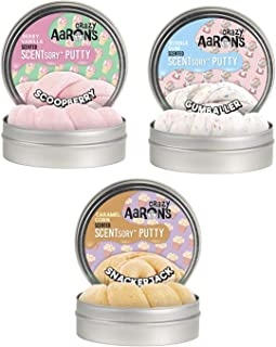 product image for Crazy Aaron's Scented Putties: Scoopberry, Gumballer, Snackerjack Thinking Putty