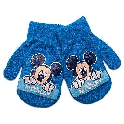 Disney Gants - Bébé (garçon) Bleu bleu