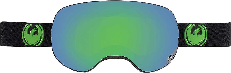 Dragon X2 jet L green ion + yellow blue i / noir Taille Uni