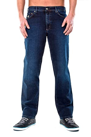 Revils Jeans 342 - Straight Fit (Gerades Bein) Stretch, Blue Black ... e1f25303d3