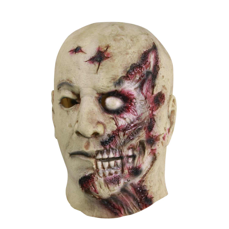 Molezu Halloween Novelty Mask Costume Party Latex Zombie Horror Mask