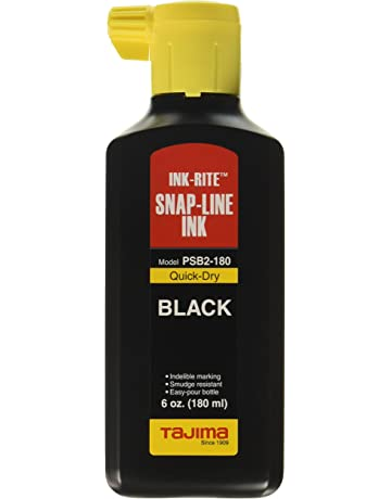 Tajima PSB2-180 INK-RITE Quick Dry Black Ink, 6 oz
