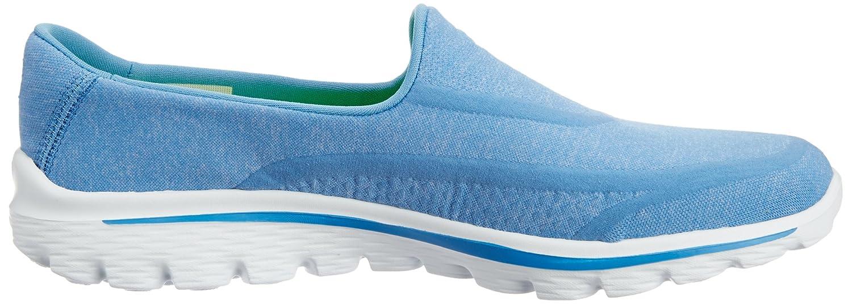 Skechers GO Damen Walk 2 Super Sock Damen GO Walkingschuhe Blau (Blu) 475080