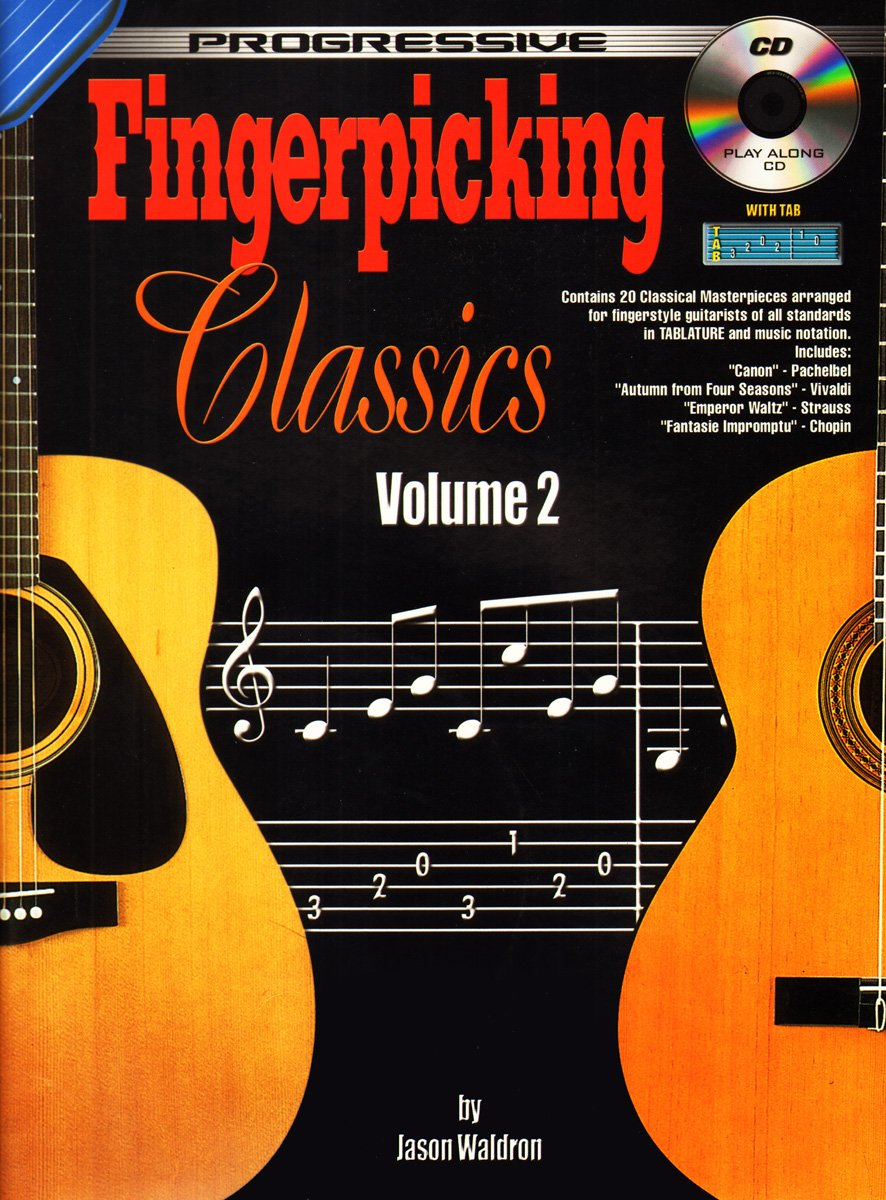 Progressive Fingerpicking Classics: Book 2 / CD Pack: Amazon.es ...