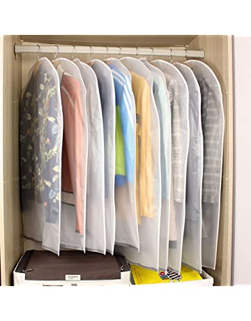 6f67a04b18bb9 GEEDIAR Housses de Vêtements, Lot DE 6/8 Couverture Lavable Transparent  Etanche Anti-