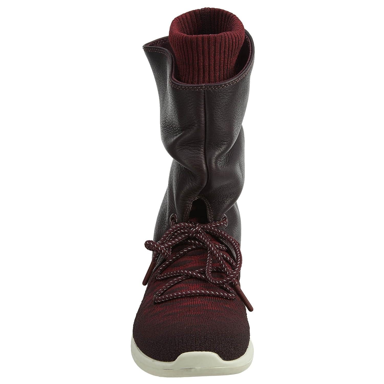 NIKE Womens Roshe Two Hi Flyknit Trainers 861708 Sneakers Boots B01M24PSA9 5.5 B(M) US Deep Burgundy/Deep Burgundy-team Red