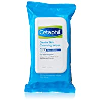 Cetaphil Gentle Skin Cleansing Cloths for Dry, Sensitive Skin, Face Cleansing Wipes...