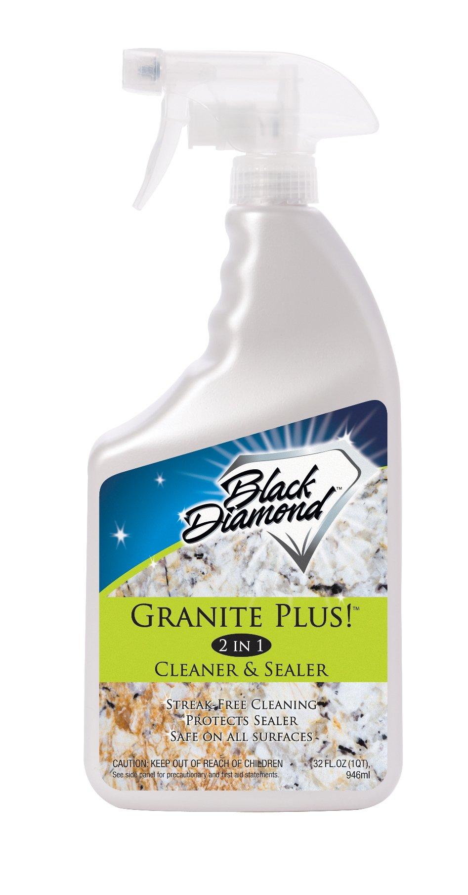 Granite Plus! 2 In 1 Cleaner & Sealer For Granite Marble Travertine Limestone.. 2