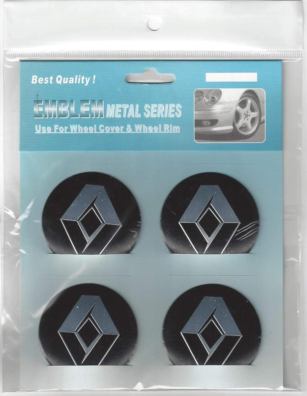 Renault Emblema Rueda Centro Tapa Adhesivo Logotipo Tapacubos - 55 mm Dome - Juego de 4: Amazon.es: Coche y moto