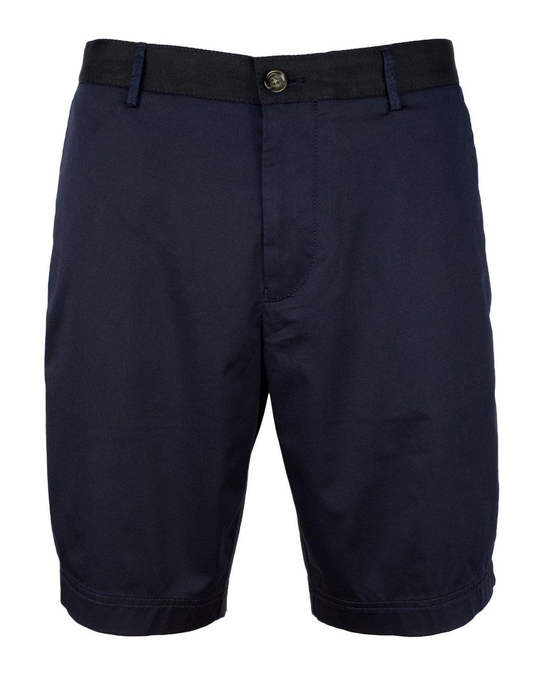 Hugo Boss Men's Regular Fit Crigan Stretch Shorts-DkBlu-34R