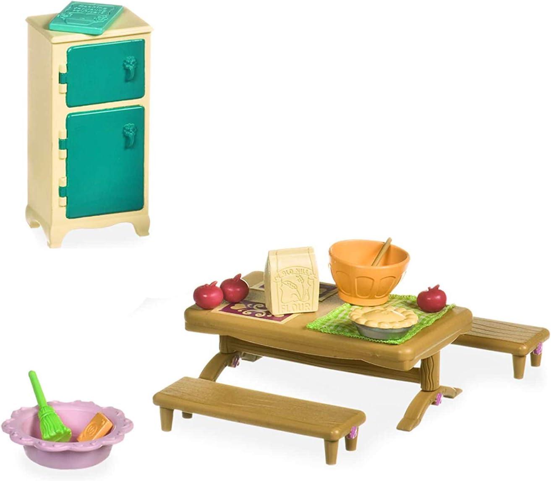 Lil Woodzeez Master Bedroom /& Dining Set
