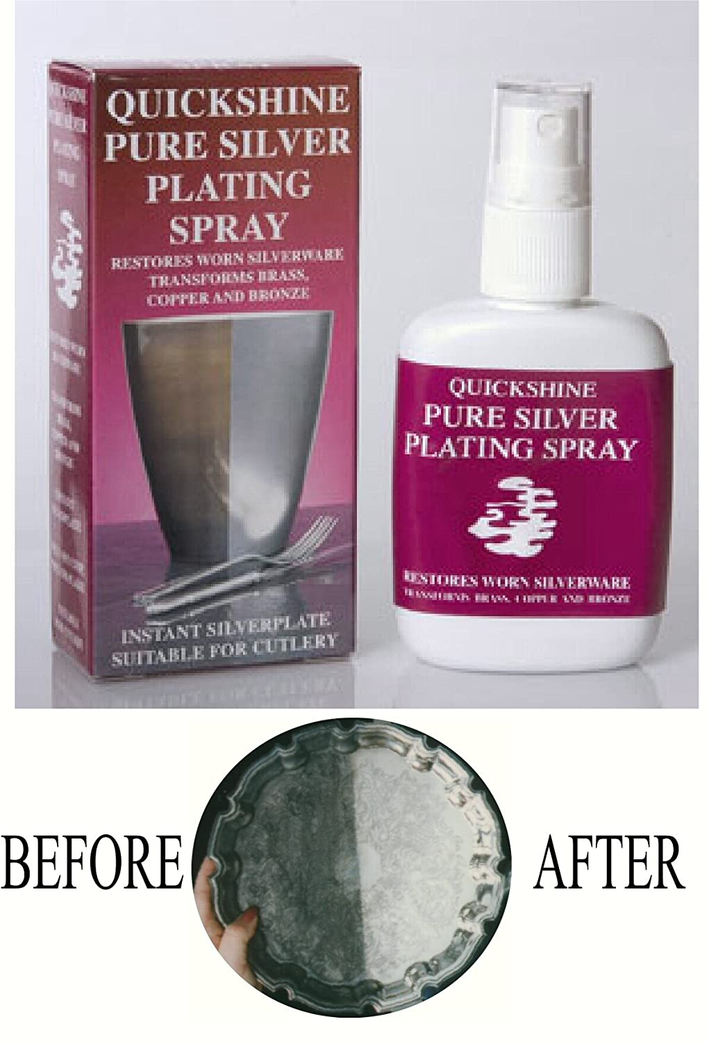 PLATE YOUR BRASS COPPER AND METALS WITH REAL SILVER SILVER PLATING SOLUTION