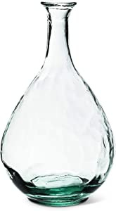 Abbott Collection 83-REINA-9452 Tall Bottle Vase-11 H, 11 inches H, Clear