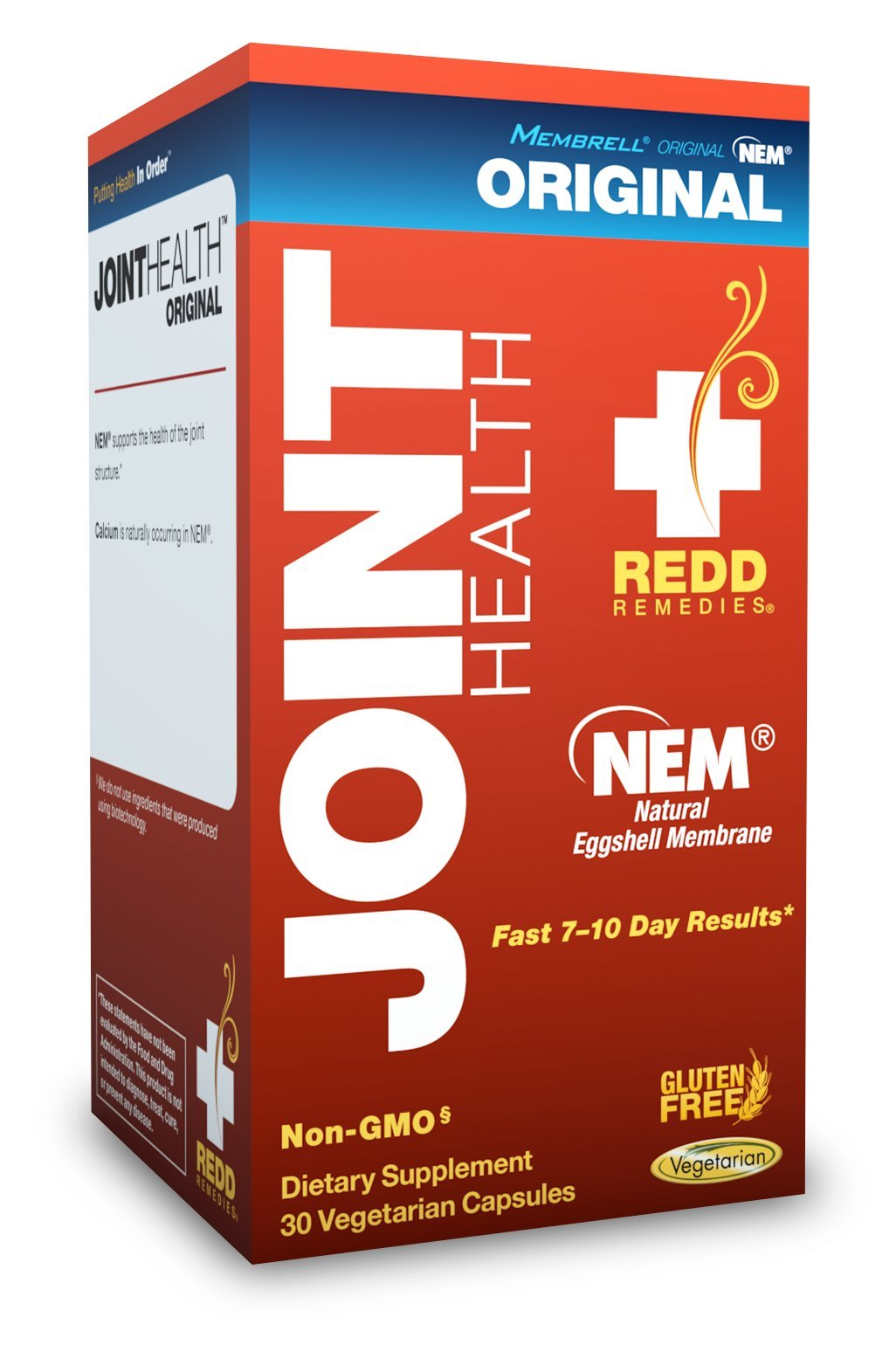 Redd Remedies - Joint Health Original, Helps Strengthen Connective Tissue and Cartilage, 30 Count
