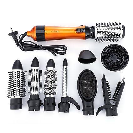 10 EN 1 Cepillo de pelo Multifuncional Secador de pelo ...