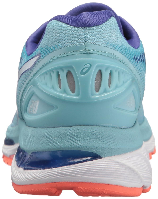 ASICS Women's Gel-Nimbus 20 Running Shoe B071S6JML3 7.5 B(M) US|Porcelain Blue/White/Asics Blue