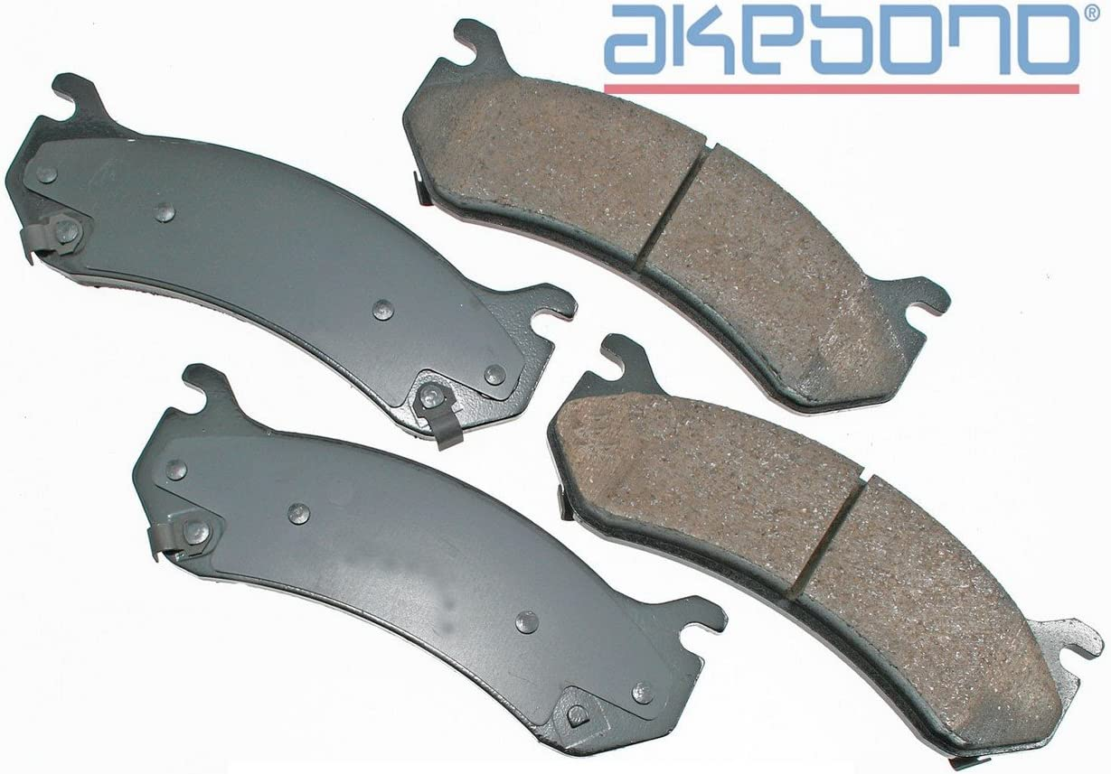 Akebono Performance ASP785 Akebono Performance Ultra Premium Ceramic Disc Brake Pad Kit