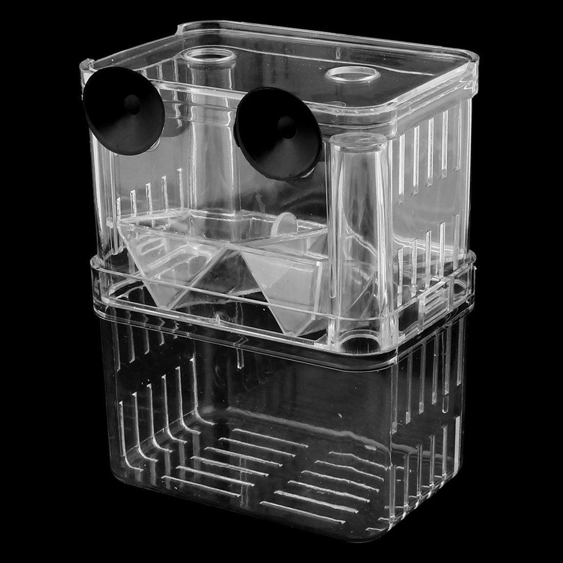 DealMux de plástico de dos capas acuario de peces Aislamiento ...