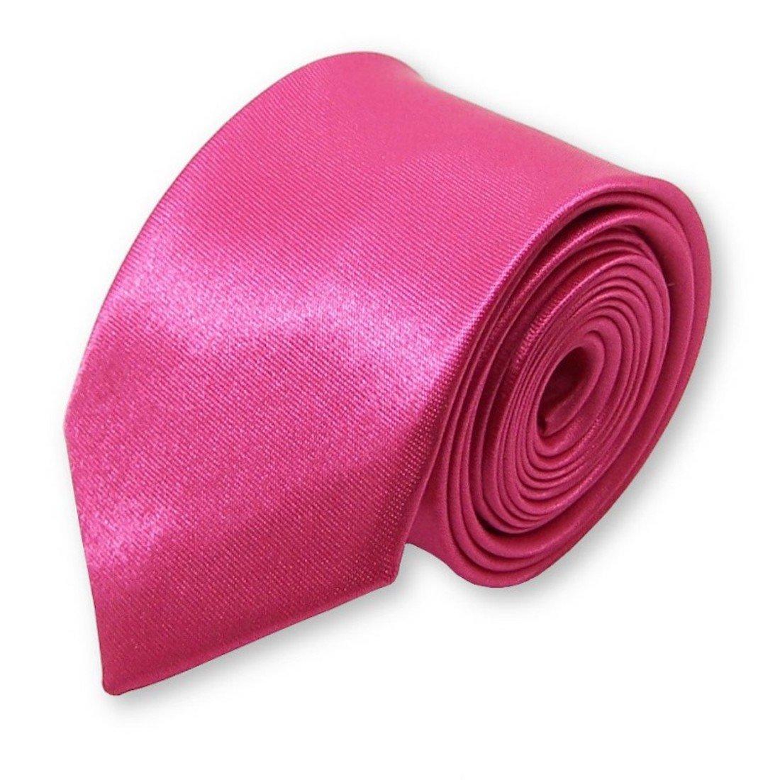 LABEL-CRAVATE cravate fine et slim pour homme, fushia  Amazon.fr  Vêtements  et accessoires f08f461b0de