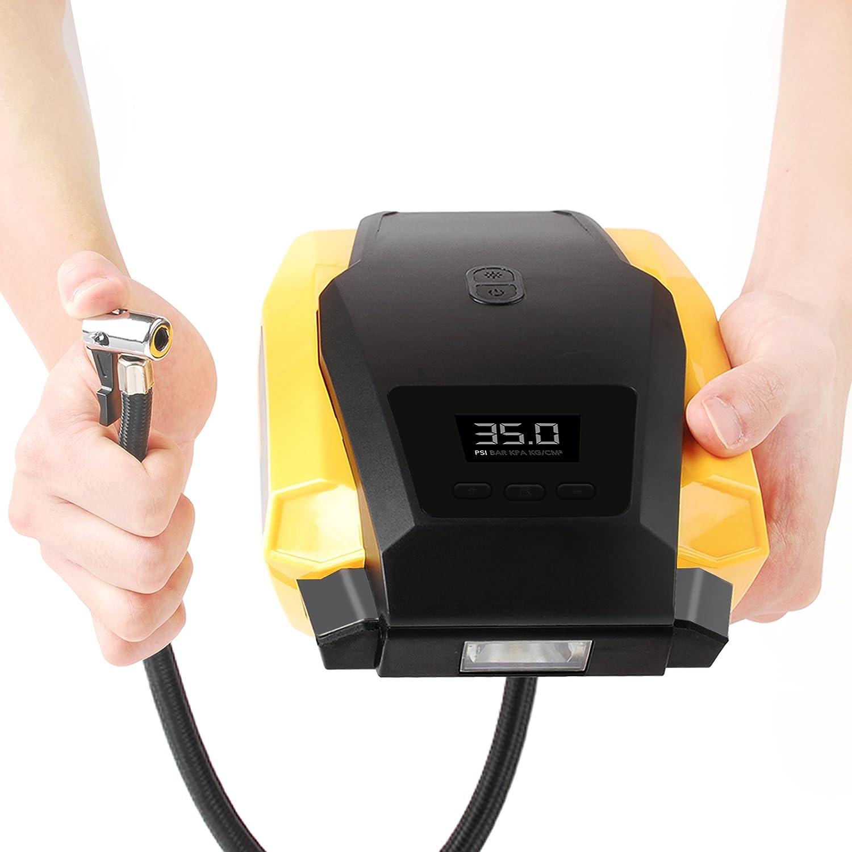 電動空気入れの人気おすすめ③ iCODIS CQ1 エアコンプレッサー 車用空気入れ