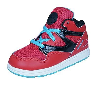 cecf0840d77 Reebok Classic Versa Pump Omnilite Kids Sneakers Shoes -Red-7K