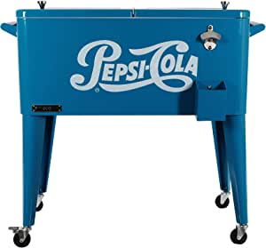 Permasteel ps-203-pepsi Patio Cooler, 80-quart: Amazon.es: Jardín