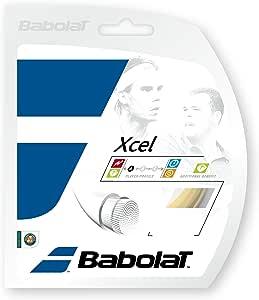 Babolat Xcel (16-1.30mm) Tennis String Set (Natural)