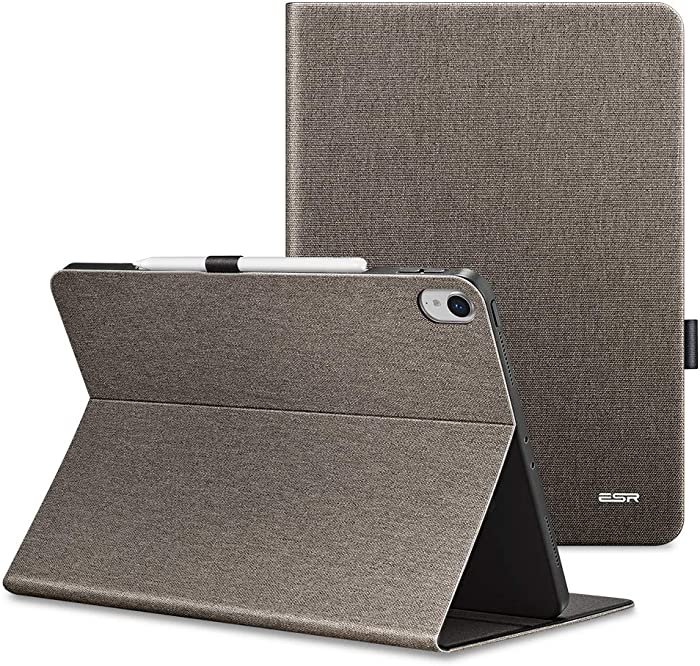 """ESR Urban Premium Folio Case V2.0 for iPad Pro 12.9"""" 2018, [Support 2nd Gen Pencil Wireless Charging],Book Cover Design, Multi-Angle Viewing Stand (NOT for iPad Pro 2020) Twilight"""