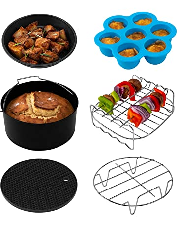 COSORI Air Fryer Accessories(C137-6AC), Set of 6 Fit all 3.7