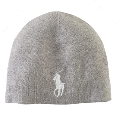 Womens Pony-Hat-Wool Beanie Ralph Lauren