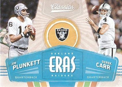 online store 94648 aed07 2018 Classics Football Eras #2 Jim Plunkett/Derek Carr ...
