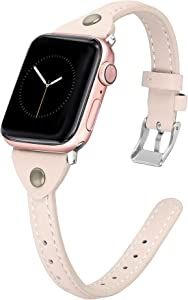 Giveaway: Secbolt Slim Leather Bands Compatible with Apple Watch Band...