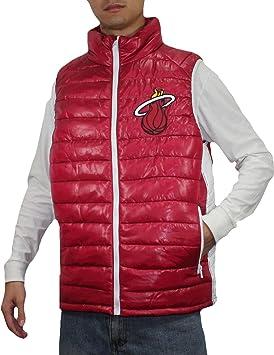 NBA Miami Heat hombre Pro Calidad zip-up a prueba de viento chaleco/chaqueta, NBA, hombre, color - Dark Red, tamaño xxx-large: Amazon.es: Deportes y aire ...