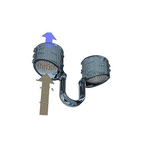 Sistema de FILTROS nasales de PARTICULAS Best Breathe® Filter, ref.: 05017, incluye 1 Porta Filtros talla XL con 10 mm de diámetro interior (uso mayormente para hombres adultos) y 30 filtros de recambio. ¡Para filtrar POLVO, SUCIEDAD, POLENES, VIRUTAS, CASPAS, ESPORAS, gérmenes y otros alérgenos entre 20 y 60 micras de tamaño! ¡Protéjase de la polución!