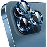 MP-MALL Compatible with iPhone 12 Pro 6.1-inch Camera Lens Protector (Not for iPhone 12), Tempered Glass Lens Ring Cover with