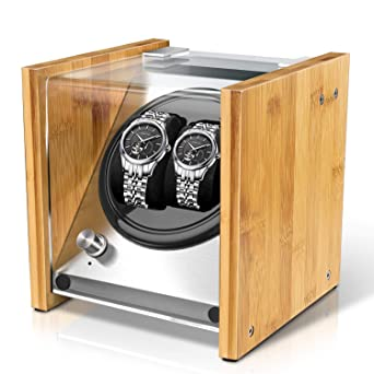 Amazon Com Watch Winder Box For Automatic Watches Or Rolex Couple